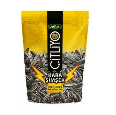 Peyman Kara Simsek Extra Salted and Roasted Dakota Sunflower seed 160gr