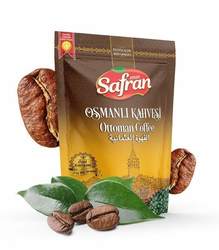 Safran  Ottaman Coffee Osmanli Kahvesi 200gr