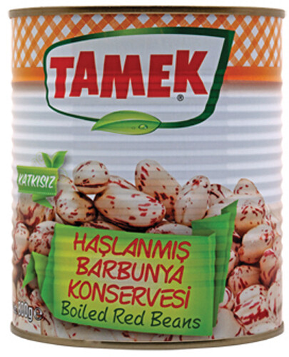 TAMEK BOILED PINTO BEANS 800GR CAN