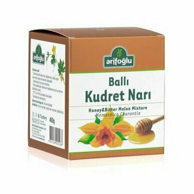Arifoglu HONEY & BITTER MELON MIXTURE KUDRET NARI 460gr