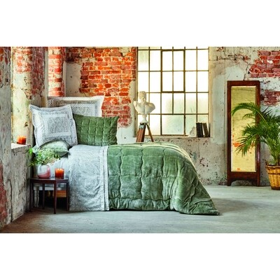 ​Karaca Home OLITE GREEN DOUBLE  SOFT Sleep Set UYKU SETI