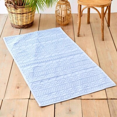 ​Karaca Home Lyric Blue Rug 80x150 cm - Kilim