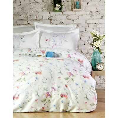 ​Sarah Anderson Trina Double Satin Duvet Cover Set