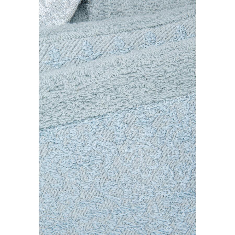Karaca Home Vivid Flos 6 Piece Mint Beige Family Bathroom Set  AILE BANYO SETI