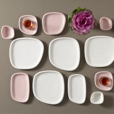 Karaca Lena 26 Pieces Breakfast Set for 6 People Pink