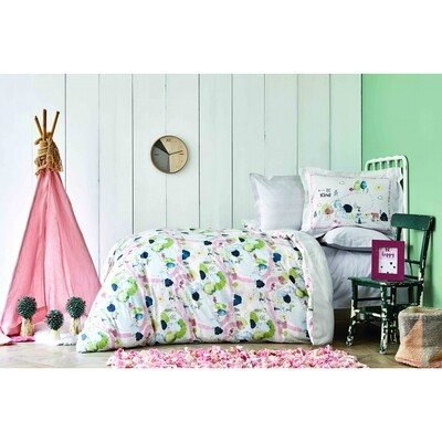 ​Karaca Home Forest Green Young Duvet Cover Set-  GENC PIKE