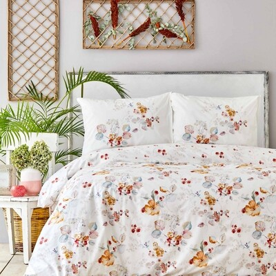 ​Sarah Anderson Brida Double Duvet Cover and Pillow Set