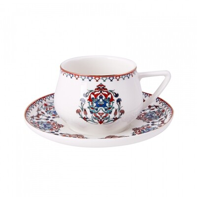 KARACA NAKKAS 4 PERSON TEA SET