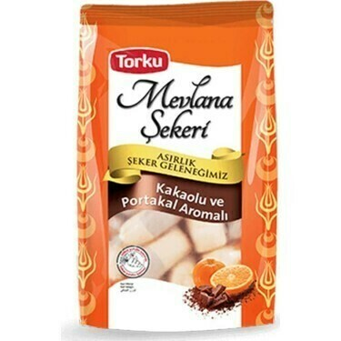 MEVLANA CANDY W/CACAO AND ORANGE 200GR