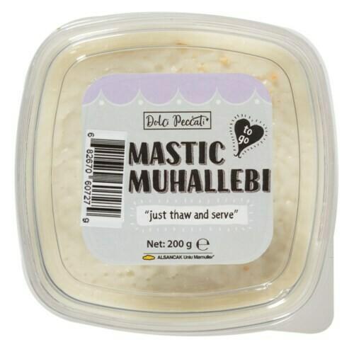 DOLCI PECCATI SAKIZLI MUHALLEBI (MASTIC) 200gr - Halal