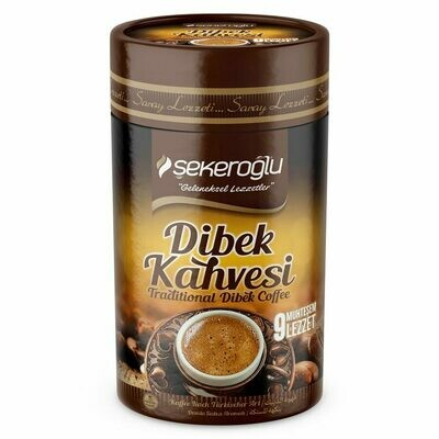 Sekeroglu Sade Dibek kahvesi Traditional Turkish Coffee 250gr