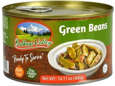 BALKAN VALLEY GREEN BEANS 400GR