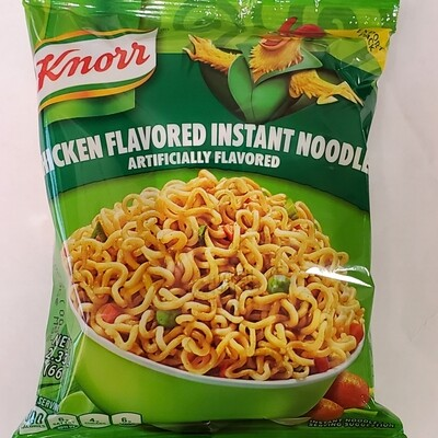 KNORR CHICKEN FLAVORED INSTANT NOODLES 66GR