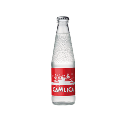 Camlica Turkish Soft Drink Soda 259 ml 1 piece Sade Gazoz