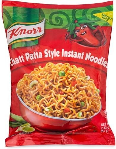 KNORR CHATT PATTA STYLE INSTANT NOODLES 75GR halal