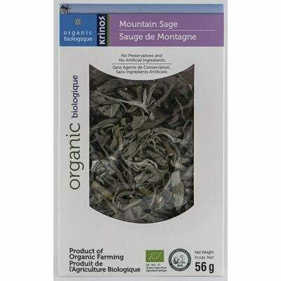 Krinos Organic Greek Sage 56gr  Tea