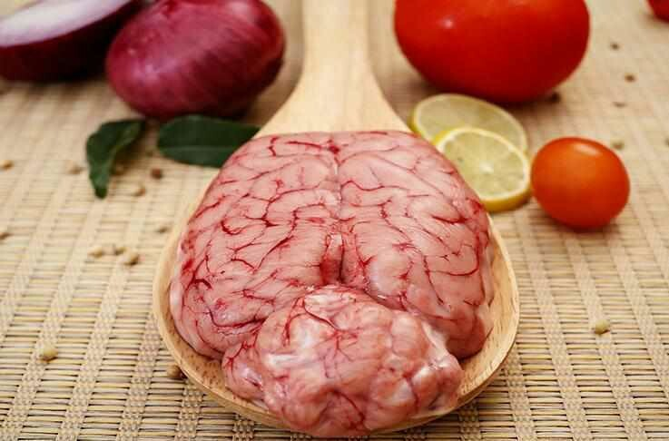 100% Real Organic Goat Brain 1 each - ZABIHA HALAL -HAND Slaughtered