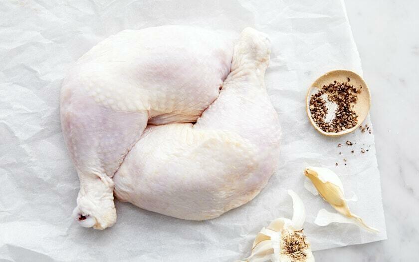 Organic Chicken Leg Plain  ~2lb - ZABIHA HALAL -HAND Slaughtered