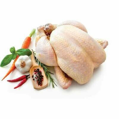 Organic Whole Chicken  ~4lb - ZABIHA HALAL -HAND Slaughtered