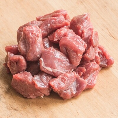 Fresh Lamb Cubes  ~2lb - ZABIHA HALAL -HAND Slaughtered