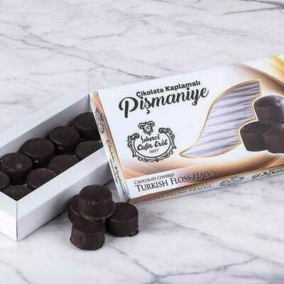 Cikolata Kapli Pismaniye (Chocolate Covered Cotton Candy) by Sekerci Erol Usta 200gr