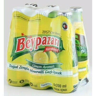 Beypazari Mineral Water with Lemon 250ml X 6