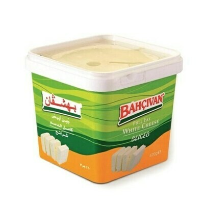 Bahcivan Full Fat white cheese cow SLICED FETA 420GR