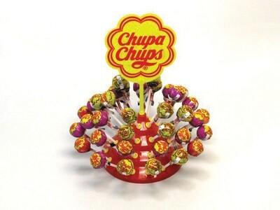 CHUPA CHUPS LOLLIPOPS DISPLAY 1pc 11gr
