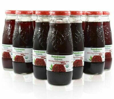Organic Pomegranate Juice 200ML Glass