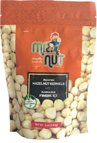 MR. NUT ROASTED HAZELNUT 5 OZ (142GR)