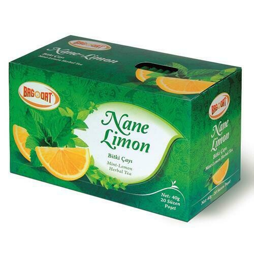 BAGDAT MINT-LEMON TEA/NANE-LIMON POSET CAY 40 GR