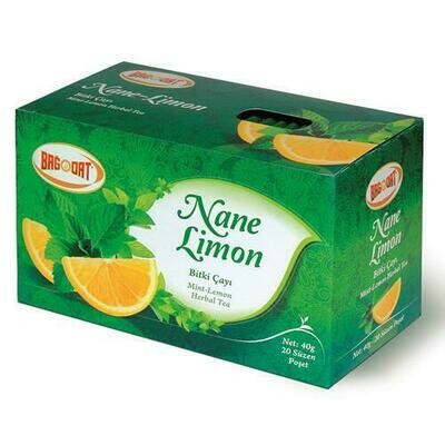 BAGDAT MINT-LEMON TEA/NANE-LIMON POSET CAY 40 GR