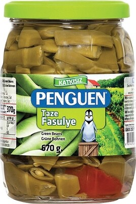 Penguen Green Beans (Taze Fasulye) (glass) 720ml