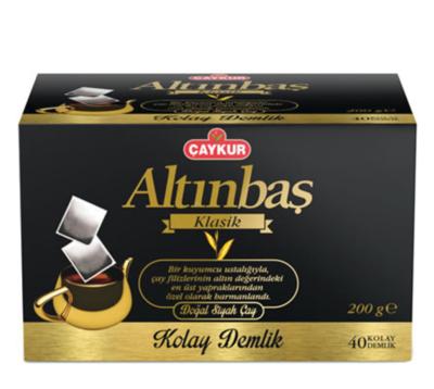 CAYKUR ALTINBAS DEMLIK POSET TEA BAG 40TB 200GR
