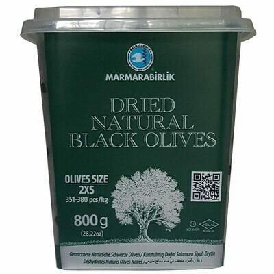 MB GEMLIK BLACK OLIVES KURU SELE 2XS (DRIED SELE) 800GR PLASTIC