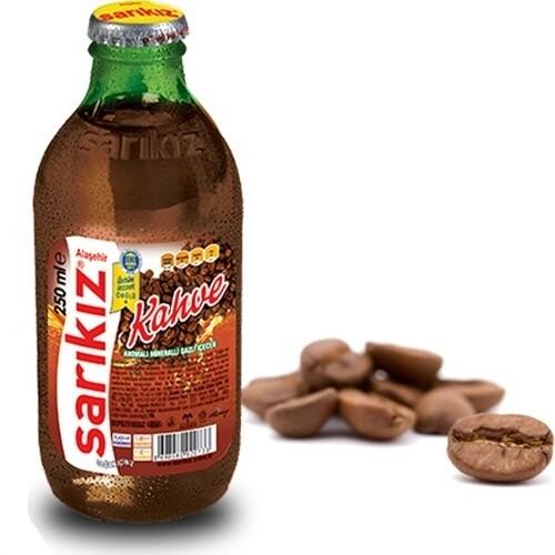 Sarikiz mineral water with coffee 250ml x 6pcs