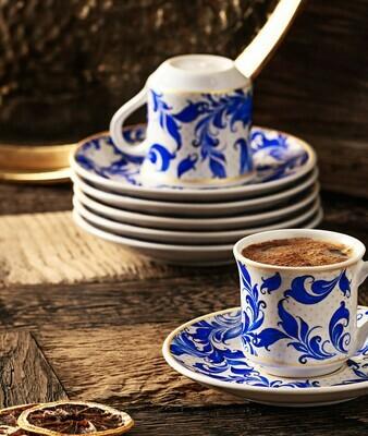 APRICOT BEYLİK 6 PERSON COFFEE SET