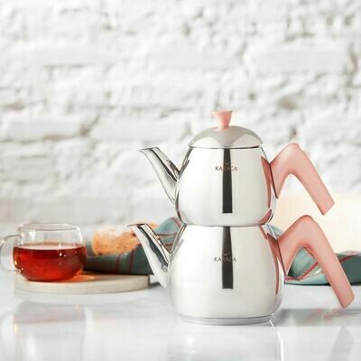KARACA MERKUR TEA POT SMALL ROSE