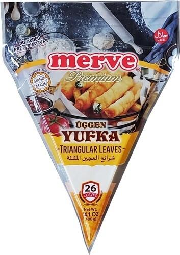 MERVE PREMIUM UCGEN YUFKA 400GR