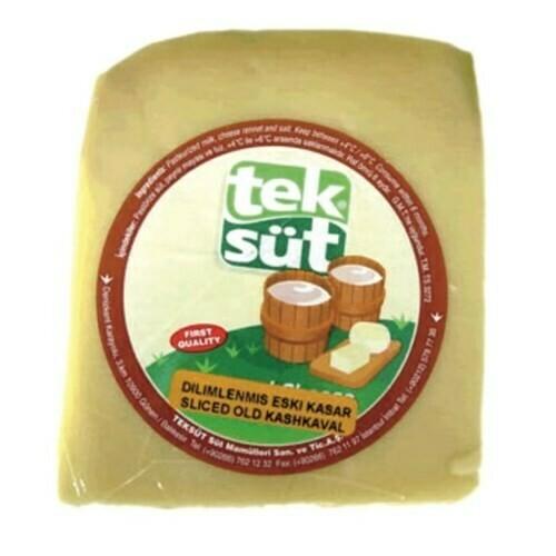 Teksut Aged Kashkaval Cheese 350gr Eski Kasar