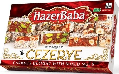 HAZERBABA CEZERYE 350GR with mixed nuts