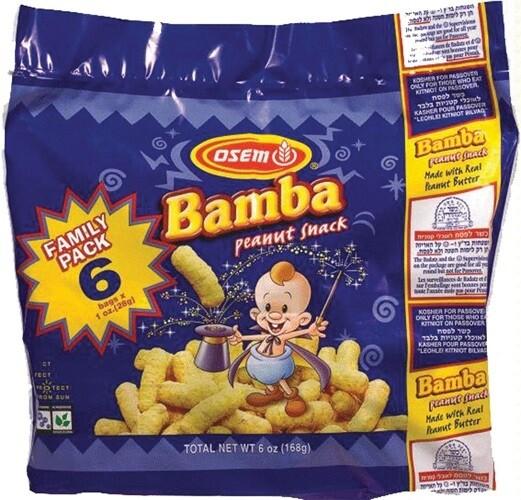 OSEM BAMBA FAMILY PACK 5.6OZ (Halal)
