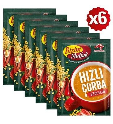 Bizim Mutfak Ezogelin Quick Soup 6 pieces