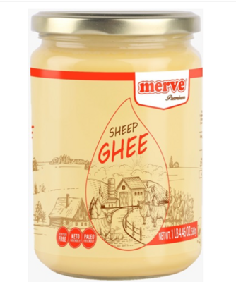 MERVE SHEEP GHEE (SADE KOYUN YAG) 580GR GLASS