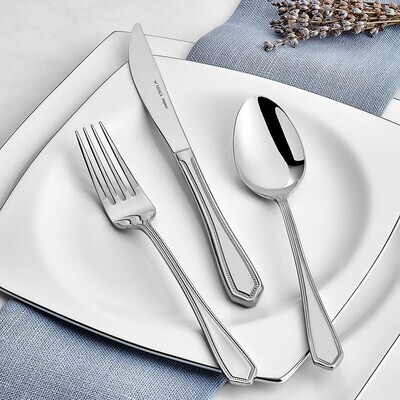 KARACA CUTLERY  SET MADRİD 84 PIECES ELGN WITH BOX