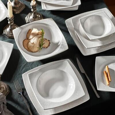 KARACA WAY 57 PIECES DINNER SET NB SQUARE