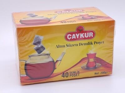 Caykur Altin suzme Demlik Poset - tea pot bags 40 pcs
