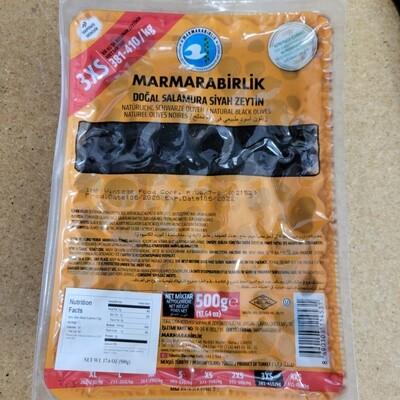 Marmara Birlik Natural black olive 3xs 500gr