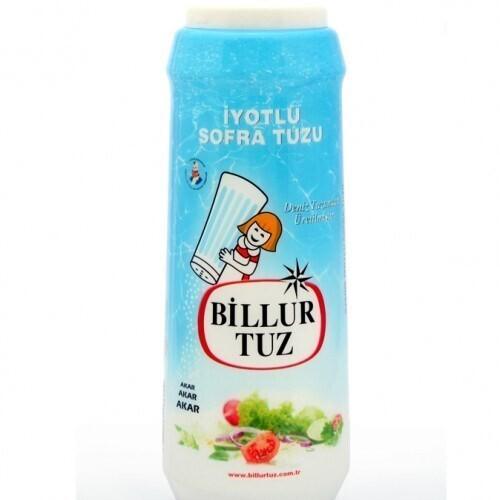 Billur Tuz Iyotlu (Salt iodized 500gr)
