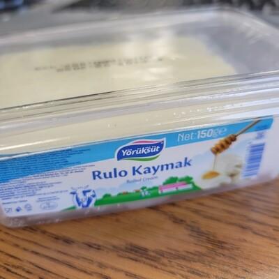 Yoruksut Home Made Fresh Turkish Cream (Kaymak) (150gr  1 pcs) Halal- Product of Turkey